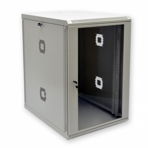 """Шкаф коммутационный 19"""", 18U, 600х800х907мм (Ш*Г*В), акриловое стекло"""