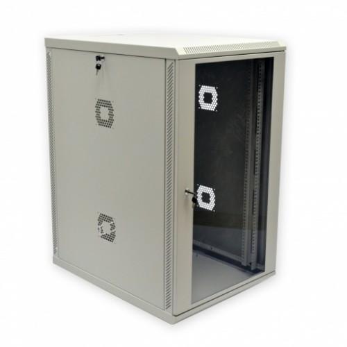 """Шкаф серверный 19"""", 21U, 600х600х1040мм (Ш*Г*В), акриловое стекло"""
