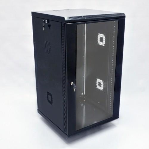 """Шкаф серверный  19"""", 21U, 600х800х1040мм (Ш*Г*В), акриловое стекло"""