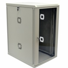 Шкаф 19″, 21U, 600х800х1040мм (Ш*Г*В), акриловое стекло