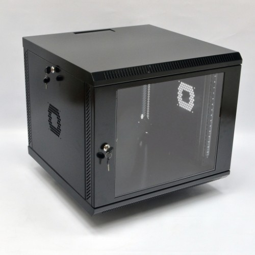 Шкаф 9U, 600х600х507 мм (Ш*Г*В), акриловое стекло