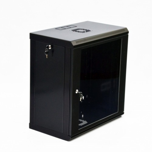Шкаф 12U, 600х350х640 мм (Ш*Г*В), акриловое стекло