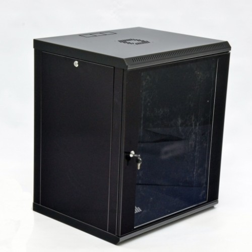Шкаф серверный 15U, 600х600х773 мм (Ш*Г*В), акриловое стекло