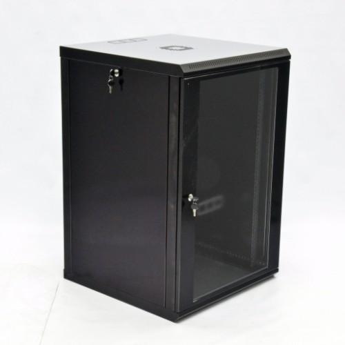 Шкаф 18U, 600х600х907 мм (Ш*Г*В), акриловое стекло