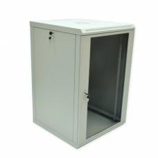 Шкаф серверный 18U, 600х600х907 мм (Ш*Г*В), акриловое стекло