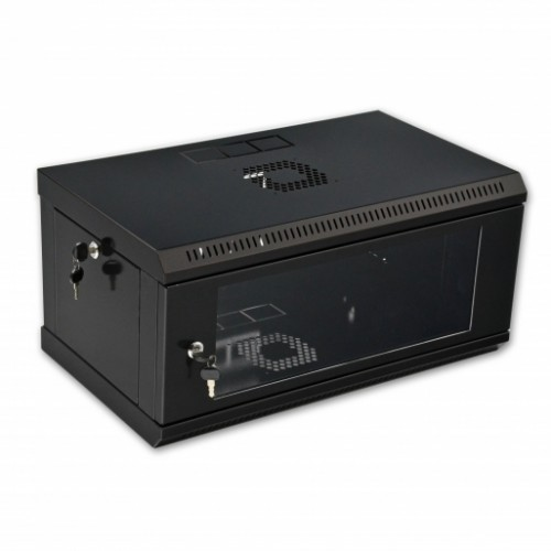 Шкаф 4U, 600х350х284 мм (Ш*Г*В), акриловое стекло