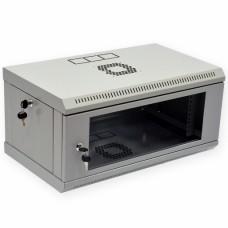 Шкаф 4U, 600х350х284мм (Ш*Г*В), акриловое стекло