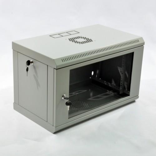 Серверный шкаф 6U, 600х350х373 мм (Ш*Г*В), акриловое стекло