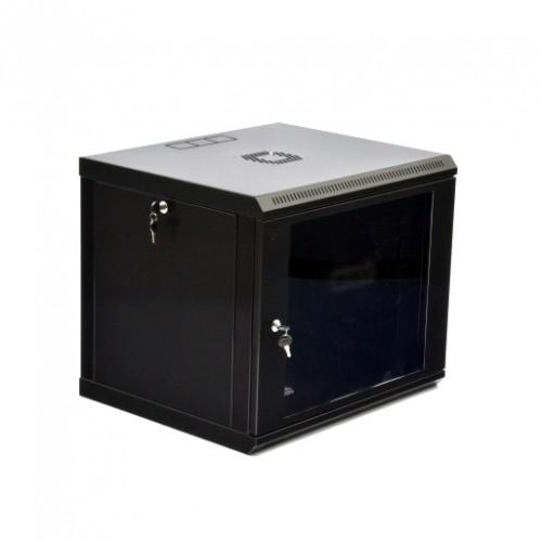 Шкаф серверный  9U, 600х500х507 мм (Ш*Г*В), акриловое стекло