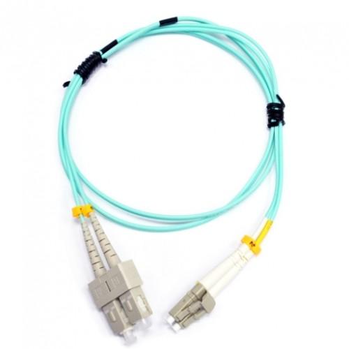 Патчкорд SC/UPC-LC/UPC MM (OM3) 10м Duplex