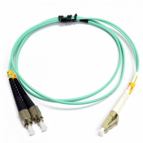 Патчкорд FC/UPC-LC/UPC MM (OM3) 1м Duplex