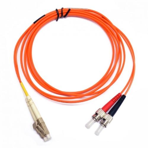 Патчкорд ST/UPC-LC/UPC MM (OM1-62.5) 3м Duplex