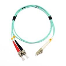 Патчкорд ST/UPC-LC/UPC MM (OM3) 1м Duplex