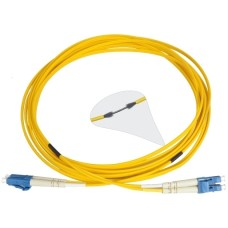 Патч-корд армированный LC/UPC-LC/UPC SM 5м Duplex