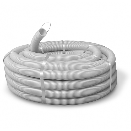 Гофротруба ПВХ ØD20/14.1мм, PVC, 100м