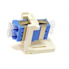 Адаптер оптический LC Multi-Mode OM2 дюплекс с креплением FutureLink