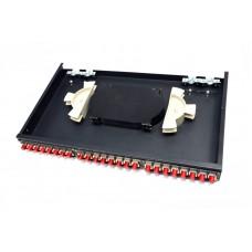 Оптическая патч-панель на 24 адаптера FC APP01-24-FC-F
