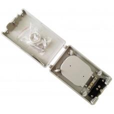 Оптический мини-бокс для 24 сварок на две кассеты и 12 гильз FOB-D009/12-2-12