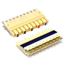 Соединитель на 5 пар для кросс панелей (тип 110)