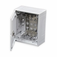 Бокс пластиковый для телефонных плинтов на 30 пар 140х170х75 мм (Ш*Г*В)