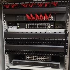 Аудит сети и коммутация серверной