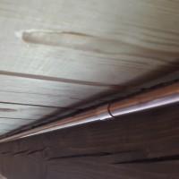 Монтаж слаботочного кабеля в доме из сруба