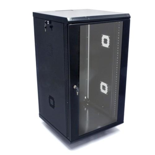 Шкаф 19″, 21U, 600х600х1040мм (Ш*Г*В), акриловое стекло