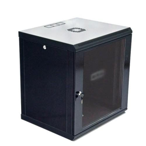 Шкаф серверный 12U, 600х500х640 мм (Ш*Г*В), акриловое стекло