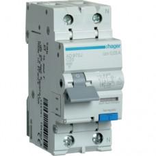 Дифференциальный автоматический выключательHager AD970J 20A