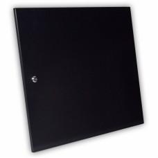 Дверь цельнометаллическая для серверного шкафа 12U MGSWA, черная
