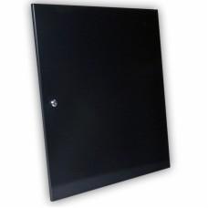 Дверь цельнометаллическая для серверного шкафа 15U MGSWA, черная