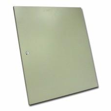 Дверь цельнометаллическая для серверного шкафа 15U MGSWA, серая