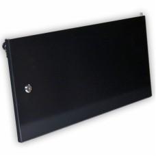 Дверь цельнометаллическая для серверного шкафа 6U MGSWA, черная