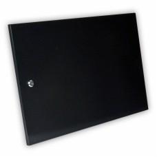 Дверь цельнометаллическая для серверного шкафа 9U MGSWA, черная