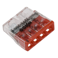 Соединитель для монолитных электрических проводов 0.75 – 2.5 мм2, 24А