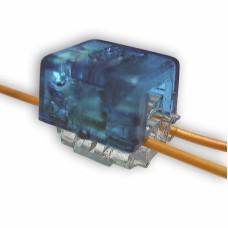 Соединитель витой пары скотчлок (Scotchlok на 2 провода 0,4…0,7 мм)