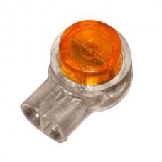 Соединитель витой пары скотчлок (Scotchlok на 2 провода 0,5…0,9 мм)