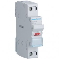 Hager SBN116 16A выключатель нагрузки однополюсный (рубильник)