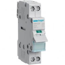 Hager SBN225 25A выключатель нагрузки двухполюсный (рубильник)
