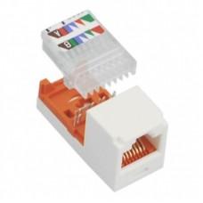 Модуль Mini-Com RJ45 UTP, 5е, белый, Leadframe Style, PANDUIT