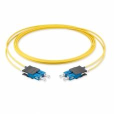 Оптический патч-корд SC-SC, 2.8мм, (OS2), Duplex, LSZH, 1 метр