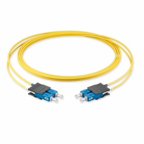 Оптический патч-корд SC-SC, 2.8мм, (OS2), Duplex, LSZH, 2 метра