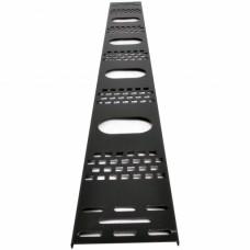 Вертикальный кабельный организатор для серверных шкафов, 24U, черный