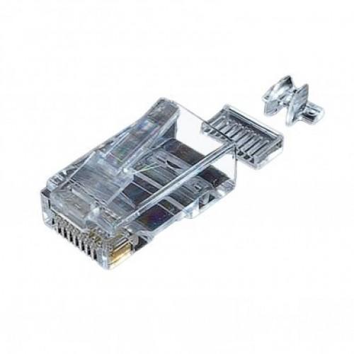 Коннектор UTP cat 6, со вставкой, EPNew