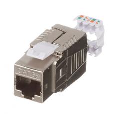 Модуль Keystone RJ45 FTP, cat 6a, RJ 45, 10 Gb/s, Panduit