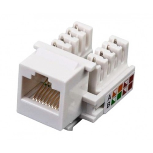 Модуль KeyStone RJ45 UTP, cat 5e, Krone type, Kingda
