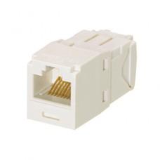 Модуль RJ45 UTP cat 6, Minicom Panduit, белый