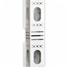 Боковой организатор кабеля с крышкой, для шкафов MGSE 42U, серый
