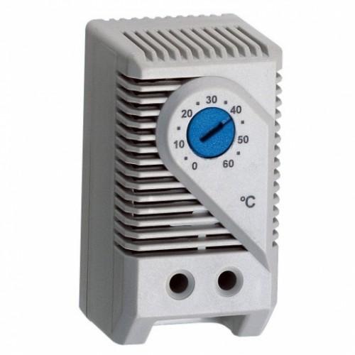 Термостат компактный AC 250 В, 10 (2) A, от 0 до +60 °C