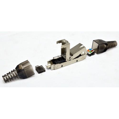 Соединитель витой пары STP, cat 6a, безинструментальный L&W ELECTRONICAL